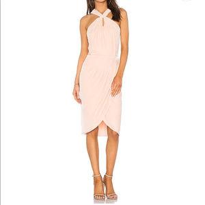 NWT Cupcakes & Cashmere Smoke Rose velvet dress